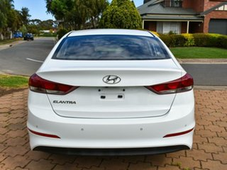 2016 Hyundai Elantra AD MY17 Active Whiwte/cloth 6 Speed Sports Automatic Sedan