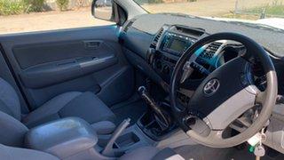 2011 Toyota Hilux KUN26R MY11 Upgrade SR5 (4x4) White 5 Speed Manual Dual Cab Pick-up