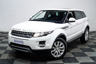 2015 Land Rover Range Rover Evoque L538 MY15 TD4 Pure White 9 Speed Sports Automatic Wagon.