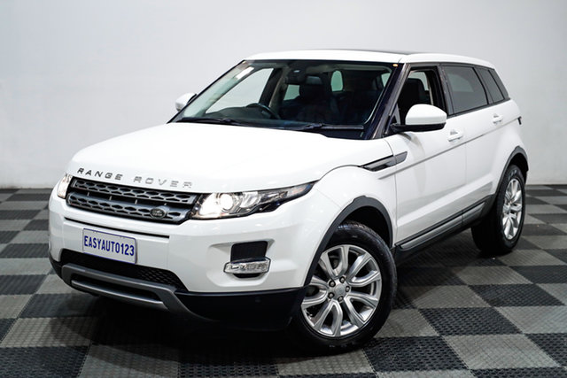 Used Land Rover Range Rover Evoque L538 MY15 Pure Edgewater, 2015 Land Rover Range Rover Evoque L538 MY15 Pure White 9 Speed Sports Automatic Wagon