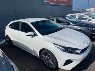 2021 Kia Cerato BD MY22 Sport Snow White Pearl 6 Speed Sports Automatic Hatchback.