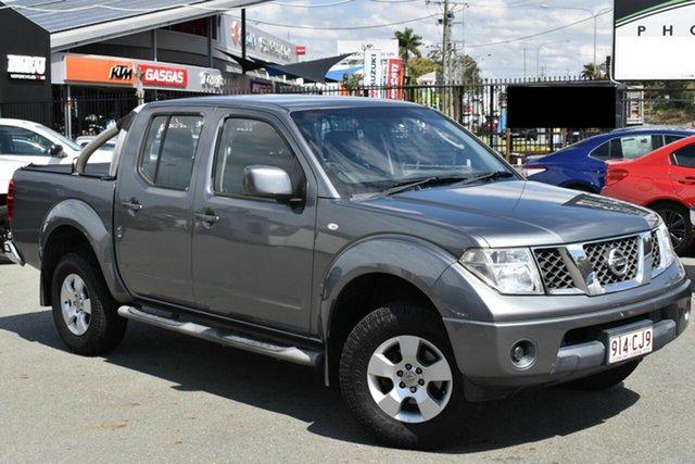 Used Nissan Navara D40 ST (4x4) Underwood, 2011 Nissan Navara D40 ST (4x4) Grey 5 Speed Automatic Dual Cab Pick-up