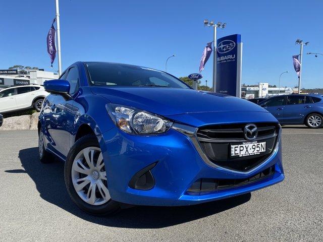 Used Mazda 2 DL2SAA Neo SKYACTIV-Drive Brookvale, 2017 Mazda 2 DL2SAA Neo SKYACTIV-Drive Blue 6 Speed Sports Automatic Sedan