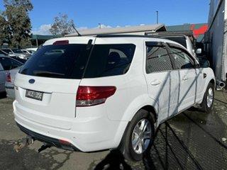 2012 Ford Territory SZ TX (RWD) White 6 Speed Automatic Wagon.