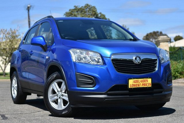 Used Holden Trax TJ MY15 LS Enfield, 2015 Holden Trax TJ MY15 LS Blue 5 Speed Manual Wagon
