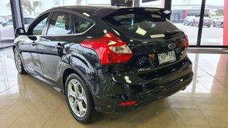 2012 Ford Focus LW MkII Sport PwrShift Black 6 Speed Sports Automatic Dual Clutch Hatchback