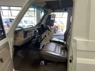 2008 Toyota Landcruiser VDJ78R Workmate Troopcarrier White 5 Speed Manual Wagon
