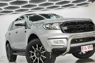 2017 Ford Everest UA MY18 Trend (RWD) Silver 6 Speed Automatic SUV.