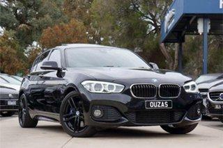 2018 BMW 1 Series F20 LCI-2 125i M Sport Black 8 Speed Sports Automatic Hatchback.