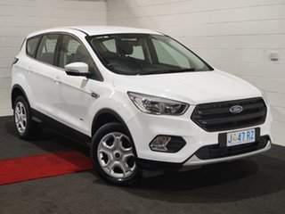 2018 Ford Escape ZG 2018.00MY Ambiente White 6 Speed Sports Automatic SUV.