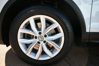 2017 Volkswagen Tiguan 5NA MY18 162 TSI Highline White 7 Speed Auto Direct Shift Wagon.