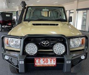 2021 Toyota Landcruiser VDJ76R Workmate Beige 5 Speed Manual Wagon