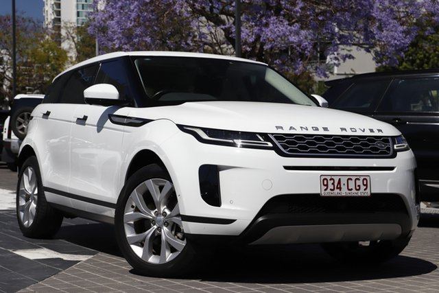Used Land Rover Range Rover Evoque L551 MY20 R-Dynamic SE Newstead, 2019 Land Rover Range Rover Evoque L551 MY20 R-Dynamic SE White 9 Speed Sports Automatic Wagon