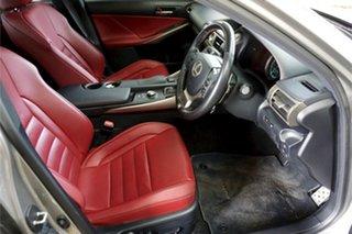 2016 Lexus IS ASE30R IS200t F Sport Silver 8 Speed Sports Automatic Sedan