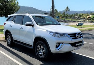 2017 Toyota Fortuner MY17 Gen 3 White Automatic Wagon.