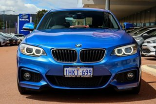 2017 BMW 2 Series F22 220i Sport Line Blue 8 Speed Sports Automatic Coupe