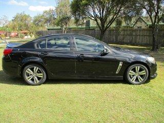 2013 Holden Commodore VF MY14 SV6 Black 6 Speed Sports Automatic Sedan.