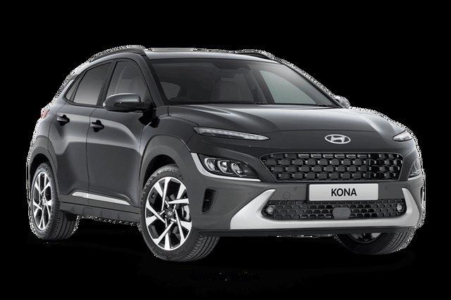 New Hyundai Kona Highlander Hamilton, 2020 Hyundai Kona OS.V4 Highlander Dark Knight 8 Speed Automatic SUV