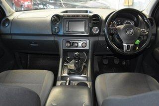 2014 Volkswagen Amarok 2H MY14 TDI400 Trendline (4x4) White 6 Speed Manual Dual Cab Chassis.