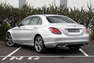 2020 Mercedes-Benz C-Class W205 801MY C200 9G-Tronic Iridium Silver 9 Speed Sports Automatic Sedan.