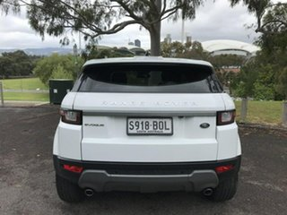 2017 Land Rover Range Rover Evoque L538 MY17 Pure White 9 Speed Sports Automatic Wagon