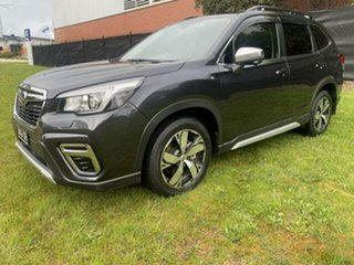 2018 Subaru Forester MY19 2.5I-S (AWD) Dark Grey Continuous Variable Wagon.
