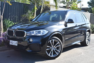 2016 BMW X5 F15 xDrive30d Black 8 Speed Sports Automatic Wagon.