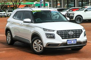 2020 Hyundai Venue QX MY20 Active White 6 Speed Automatic Wagon.