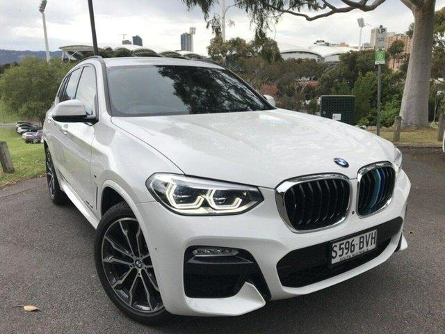 Used BMW X3 G01 xDrive30i Steptronic Adelaide, 2018 BMW X3 G01 xDrive30i Steptronic White 8 Speed Automatic Wagon