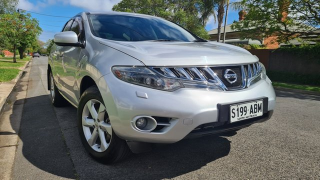 Used Nissan Murano Z51 ST Prospect, 2009 Nissan Murano Z51 ST Silver Continuous Variable Wagon