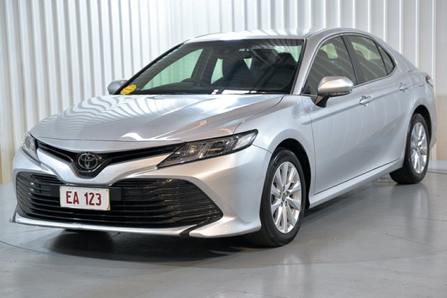 Used Toyota Camry ASV70R Ascent Hendra, 2019 Toyota Camry ASV70R Ascent Silver 6 Speed Sports Automatic Sedan