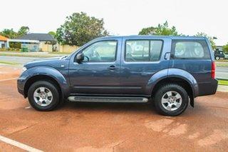 2008 Nissan Pathfinder R51 MY08 ST Blue 5 Speed Sports Automatic Wagon.