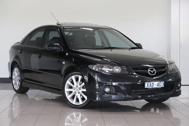 Used Mazda 6 GG1031 MY04 Luxury Sports , 2005 Mazda 6 GG1031 MY04 Luxury Sports Black 4 Speed Sports Automatic Hatchback