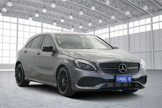 2018 Mercedes-Benz A-Class W176 808+058MY A200 DCT Grey 7 Speed Sports Automatic Dual Clutch.
