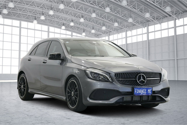 Used Mercedes-Benz A-Class W176 808+058MY A200 DCT Victoria Park, 2018 Mercedes-Benz A-Class W176 808+058MY A200 DCT Grey 7 Speed Sports Automatic Dual Clutch