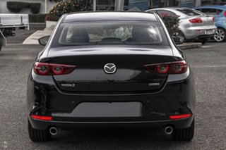 2021 Mazda 3 BP2SLA G25 SKYACTIV-Drive Astina Black 6 Speed Sports Automatic Sedan.
