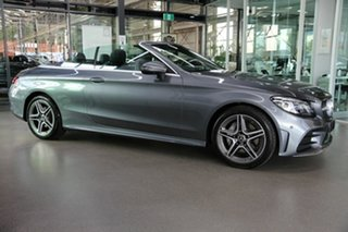 2019 Mercedes-Benz C-Class A205 809MY C200 9G-Tronic Grey 9 Speed Sports Automatic Cabriolet