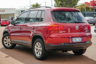 2013 Volkswagen Tiguan 5N MY14 132TSI DSG 4MOTION Pacific Red 7 Speed Sports Automatic Dual Clutch.