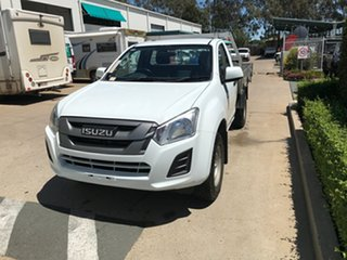 2017 Isuzu D-MAX MY17 SX 4x2 High Ride White 6 speed Automatic Cab Chassis.
