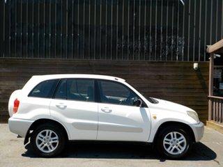 2003 Toyota RAV4 ACA21R Extreme White 5 Speed Manual Wagon.