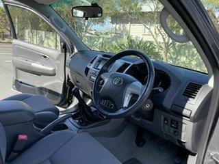 2012 Toyota Hilux GGN25R SR5 Grey 5 Speed Manual Dual Cab
