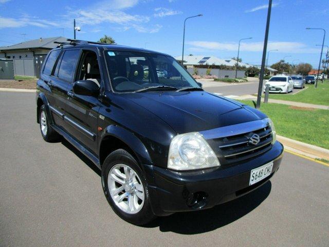 Used Suzuki Grand Vitara Sports (4x4) Glenelg, 2003 Suzuki Grand Vitara Sports (4x4) Black 4 Speed Automatic Wagon