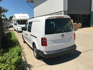 2018 Volkswagen Caddy 2KN MY18 TDI250 Crewvan Maxi DSG White 6 speed Automatic Van