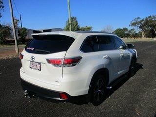2016 Toyota Kluger GSU55R GXL (4x4) Crystal Pearl 6 Speed Automatic Wagon.