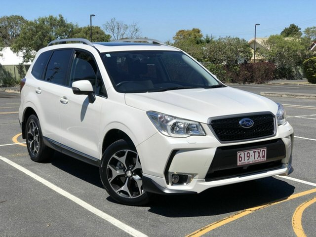 Used Subaru Forester S4 MY13 XT Lineartronic AWD Premium Chermside, 2013 Subaru Forester S4 MY13 XT Lineartronic AWD Premium White 8 Speed Constant Variable Wagon
