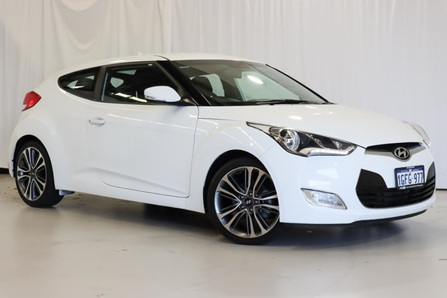 Used Hyundai Veloster FS4 Series II Coupe D-CT Wangara, 2016 Hyundai Veloster FS4 Series II Coupe D-CT 6 Speed Sports Automatic Dual Clutch Hatchback