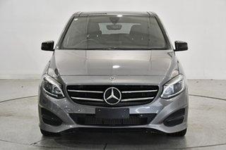 2018 Mercedes-Benz B-Class W246 808+058MY B180 DCT Grey 7 Speed Sports Automatic Dual Clutch.