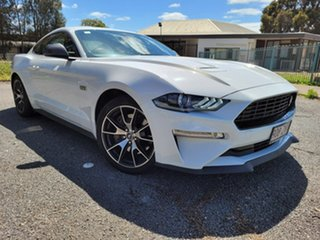 2020 Ford Mustang FN 2020MY High Performance White 6 Speed Manual Fastback.