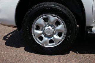 2012 Toyota Hilux KUN26R MY12 SR Double Cab Glacier White 4 Speed Automatic Utility
