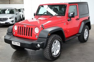 2015 Jeep Wrangler JK MY2015 Sport Red 6 Speed Manual Softtop.